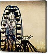 Remember When Ferris Wheel Canvas Print