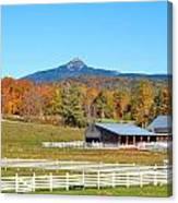 Remick Farm Autumn Canvas Print