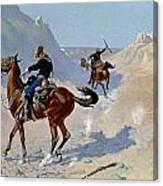 Remington: Guard, 1890 Canvas Print
