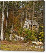 Remote Vermont Cabin Canvas Print