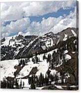Rendezvous Mountain 2 Canvas Print