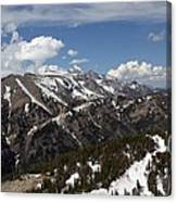 Rendezvous Mountain Canvas Print