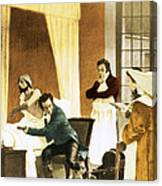 Rene Laennec, French Physician Canvas Print