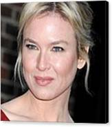 Renee Zellweger At Talk Show Appearance Canvas Print