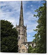 Repton Church Canvas Print