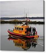 Rescue Boat Canvas Print