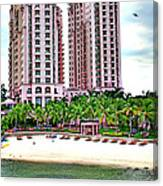 Resort Hotel Mactan Island Canvas Print