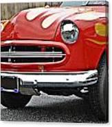 Restored Classic Car Canvas Print