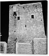 restored pyla tower a UN Partnership for the future project UNDP-PFF  Canvas Print