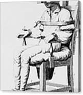 Restraining Chair 1811 Canvas Print