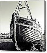 Retired Fishing Boat Canvas Print