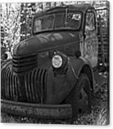 Retired Rusty Relic Farm Truck Canvas Print