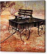 Retired Wagon 2 Canvas Print