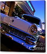 Retro Ford At Bob's Canvas Print