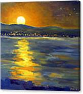 Return Of The Light Canvas Print