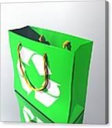 Reusable Shopping Bag, Artwork Canvas Print