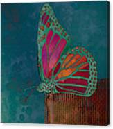 Reve De Papillon - S04bt02 Canvas Print