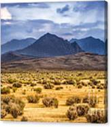 Reverse Mountains And Aeolian Buttes Canvas Print