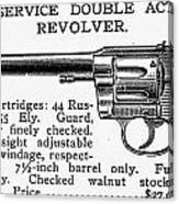 Revolver, 19th Century Canvas Print