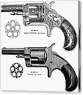 Revolvers, 19th Century Canvas Print