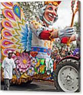 Rex Mardi Gras Parade IIi Canvas Print