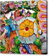 Rex Mardi Gras Parade Ix Canvas Print