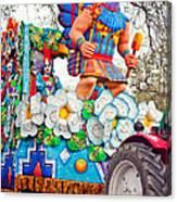 Rex Mardi Gras Parade V Canvas Print