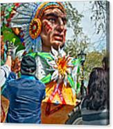 Rex Mardi Gras Parade Vii Canvas Print