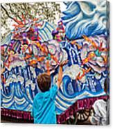 Rex Mardi Gras Parade Viii Canvas Print