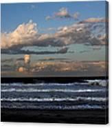 Rexham Beach Sky Canvas Print