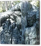 Reykjavik Iceland Statue - 10 Canvas Print