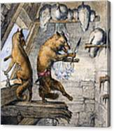 Reynard The Fox, 1846 Canvas Print