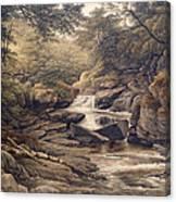 Rhiadr Ddu Near Maentwrog North Wales Canvas Print
