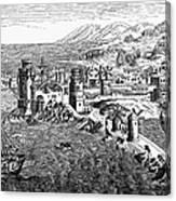 Rhodes, 1488 Canvas Print