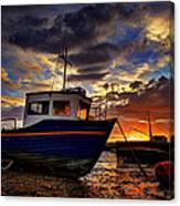 Rhos Sunrise Canvas Print