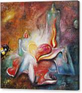 Rhythm Of The Heart Canvas Print