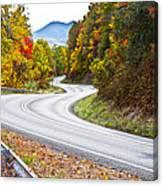 Ribbon Road Canvas Print