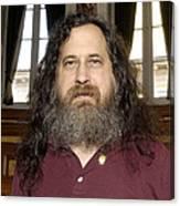 Richard Stallman, Software Developer Canvas Print
