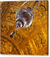 Richly Decorated Ceiling Canvas Print