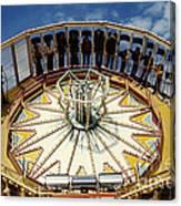 Ride At Fair Canvas Print