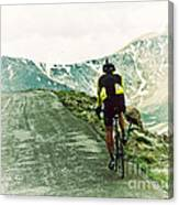 Ride The Rockies Canvas Print