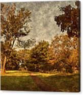 Ridge Walk - Holmdel Park Canvas Print