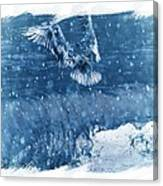 Riding The Wave The Gull Canvas Print