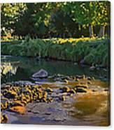 Riffles - First Light Canvas Print