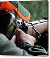 Rifle Training Canvas Print
