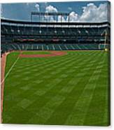 Right Field Of Oriole Park At Camden Yard Canvas Print