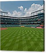 Right To Left At Oriole Park Canvas Print