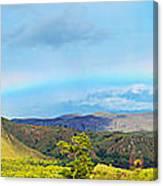 Rinca Panorama Canvas Print