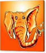 Ringo Party Animal Orange Canvas Print