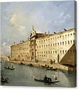 Rio Dei Mendicanti Canvas Print